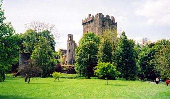 Zamek Blarney w Irlandii