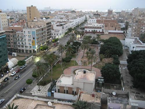 Trypolis - stolica Libii