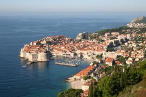 Dubrownik - portowe miasto Chorwacji